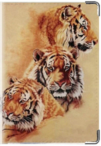 """Обложка для паспорта """"Тигр"""" (3)"""