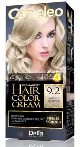 Delia Cosmetics Cameleo Крем-краска для волос тон 9.2 жемчужный блондин