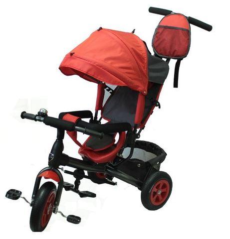 Велосипед детский с надувными колёсами (красный)