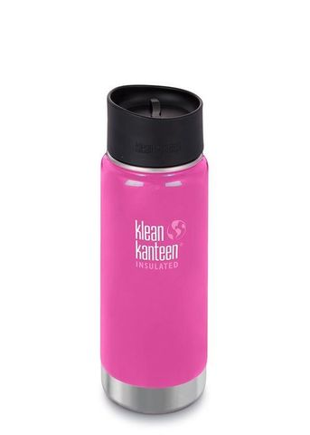 Термокружка Klean Kanteen Insulated Wide Cafe Cap 16oz (473 мл) Wild Orchid
