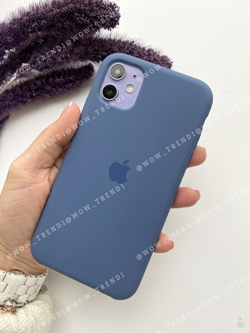 Чехол iPhone 11 Pro Silicone Case /alaskan blue/ морской лёд original quality