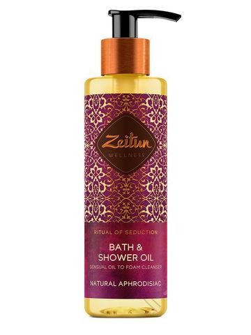 "Масло для душа и ванны ""Ритуал соблазна"" | 200 мл | Zeitun"