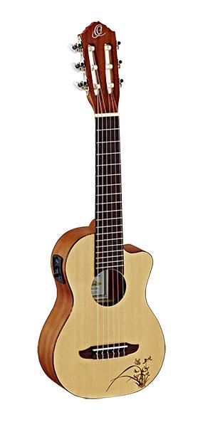 Bonfire Series Гитарлеле 6-струнный, с вырезом, Ortega - купить по выгодной цене | Музыкальный Магазин