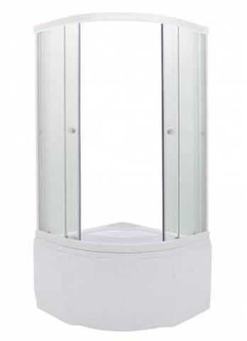 Душевой уголок Triton Стандарт Б1 (прозрачное каленое стекло 5мм)