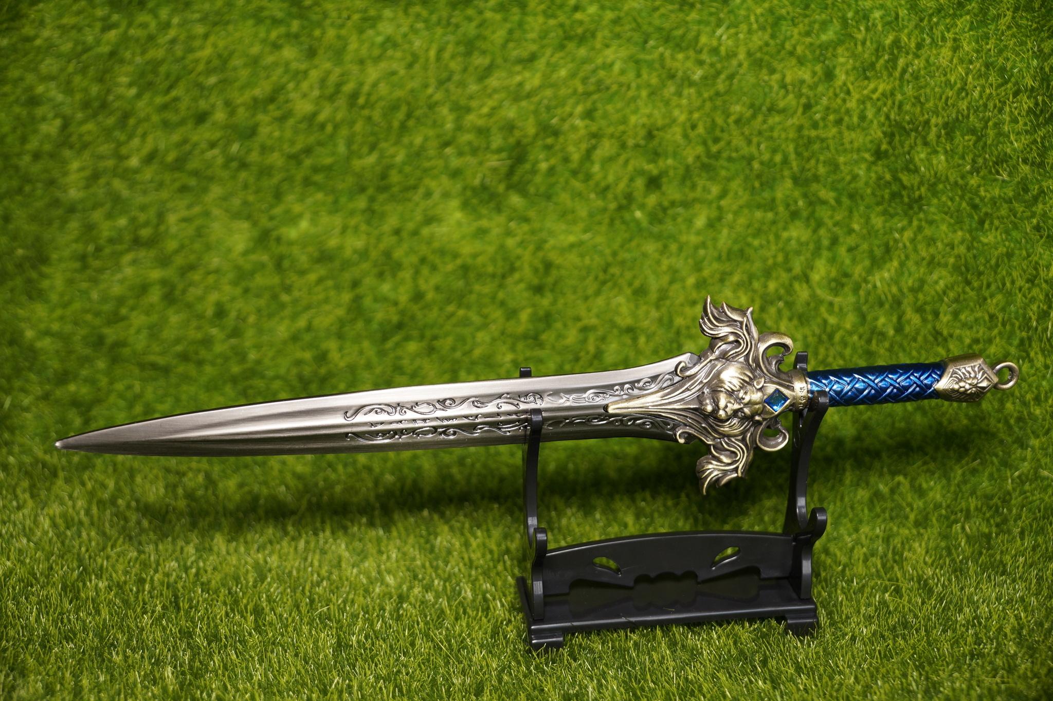 World Of Warcraft Alliance Sword Metal
