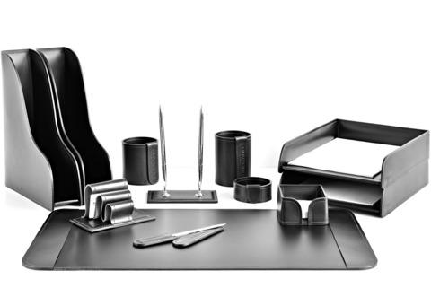 Подарочный Premium набор 12 предметов из кожи Full Grain Black/Cuoietto