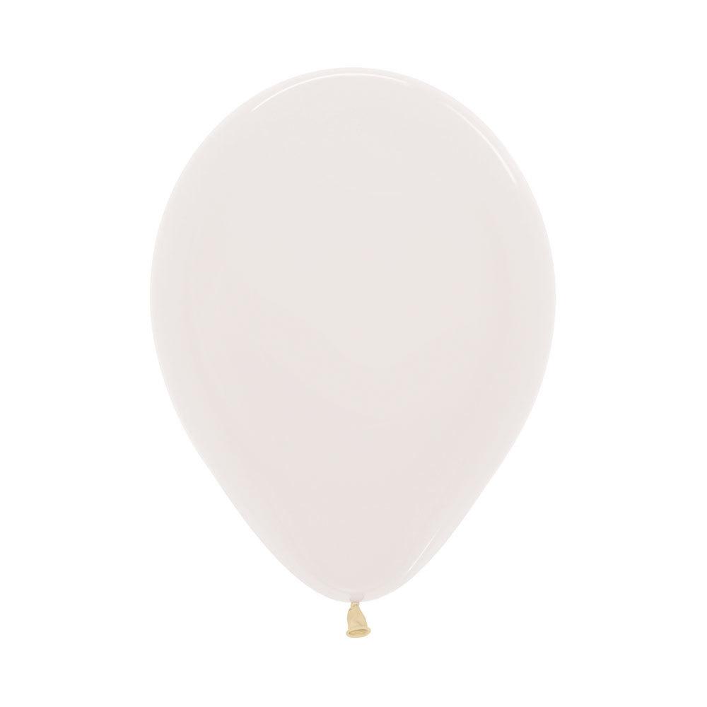 Латексный воздушный шар. цвет прозрачный пастель