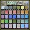 Краска-лак SMAR для создания эффекта эмали, Металлик. Цвет №1 Серебро