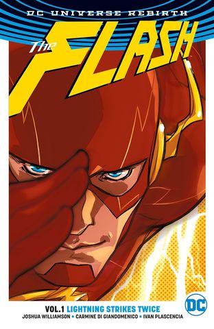 The Flash Vol 1 Lightning Strikes Twice (Rebirth)