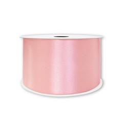 Лента атласная Розовый, 38 мм * 22,85 м.
