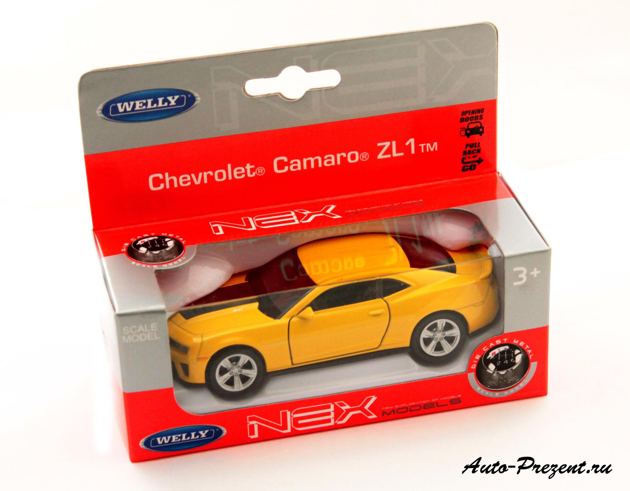 Машинка-игрушка Chevrolet Camaro ZL1