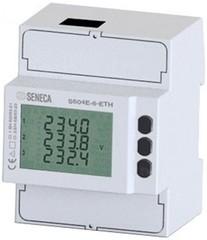 Сетевой анализатор Energy PLUS x CT1 / 5A-Ethernet - Modbus TCP / IP, журнал 8 МБ. гармоники