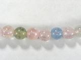 Бусина из бериллов, класс АА, шар гладкий 6 мм