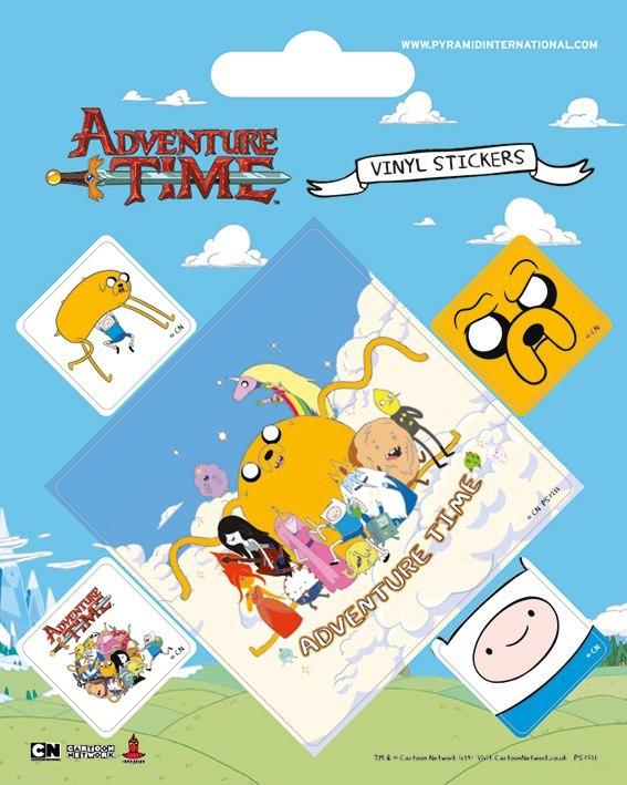 Набор стикеров Adventure Time
