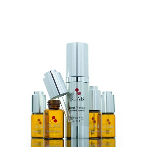 3Lab Супер ампулы с омолаживающим эффектом Super Ampoules Brightening & Anti-Aging