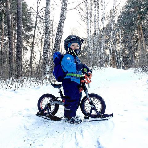 Лыжи для беговелов Puky Ski
