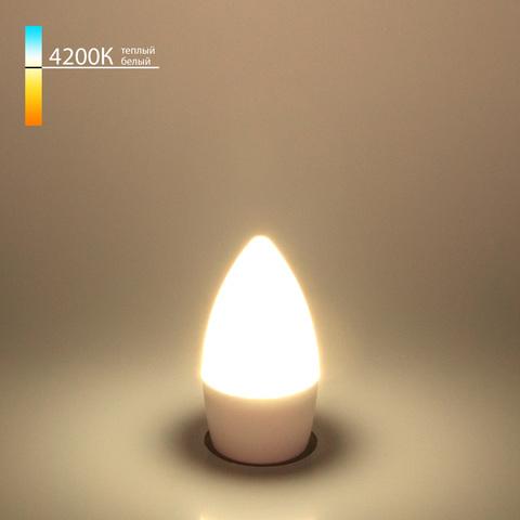 Светодиодная лампа Свеча СD  6W 4200K E27 BLE2737