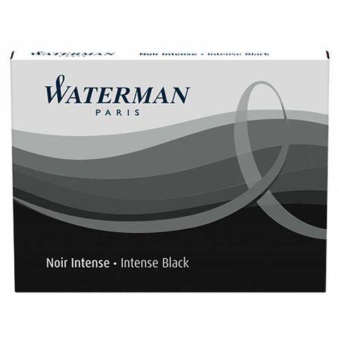 Чернила Waterman в картридже Standard Black (8шт) (S0110850)