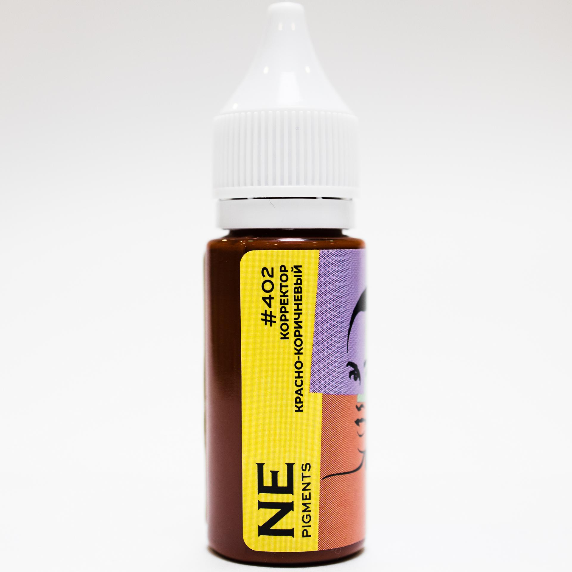 Пигмент NE Pigments #402 Красно-коричневый