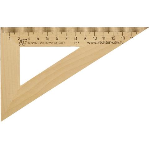 Треугольник Можга деревянный 16 см