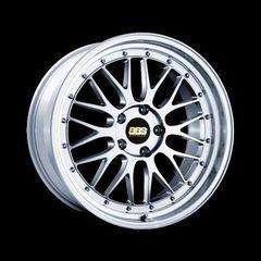 Диск колесный BBS LM 7.5x17 4x100 ET40 CB70.0 brilliant silver/diamond cut