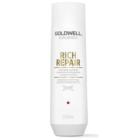 Шампунь восстанавливающий для сухих и поврежденных волос, Goldwell Dualsenses Rich Repair, 250 мл.