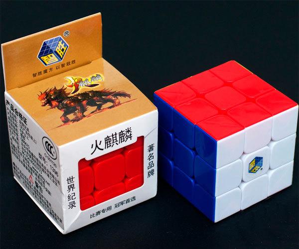 Кубик Рубика YuXin 3x3x3 Qilin Fire