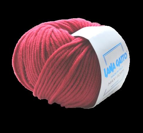 Пряжа Lana Gatto Maxi Soft 12246 красный