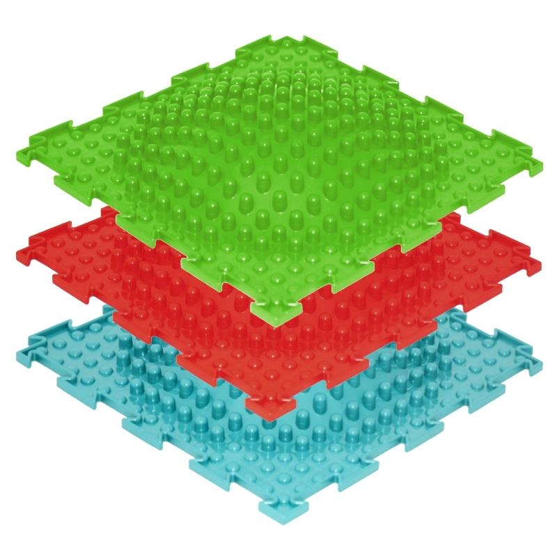 Модульный массажный коврик ОРТО «Островок», мягкий