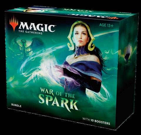 MTG: Bundle набор издания War of the Spark на английском языке