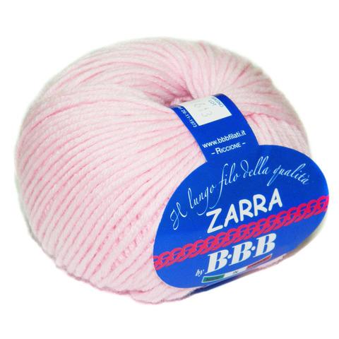 Пряжа BBB Filati Zarra 86276 нежно-розовый