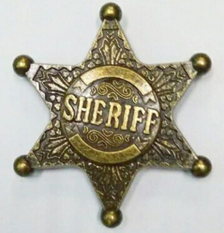 Спиннер в виде звезды шерифа