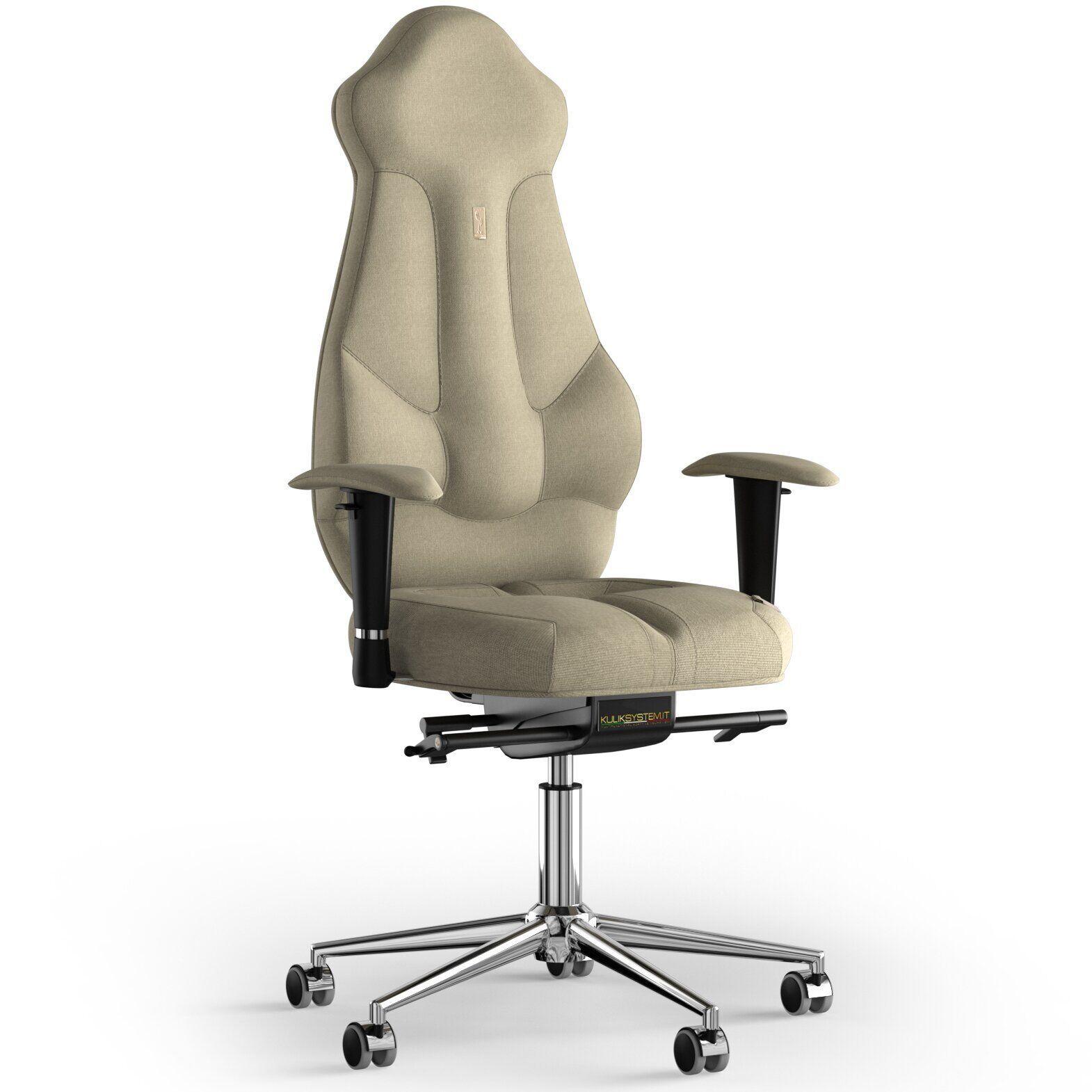 Кресло KULIK SYSTEM IMPERIAL Ткань с подголовником без строчки