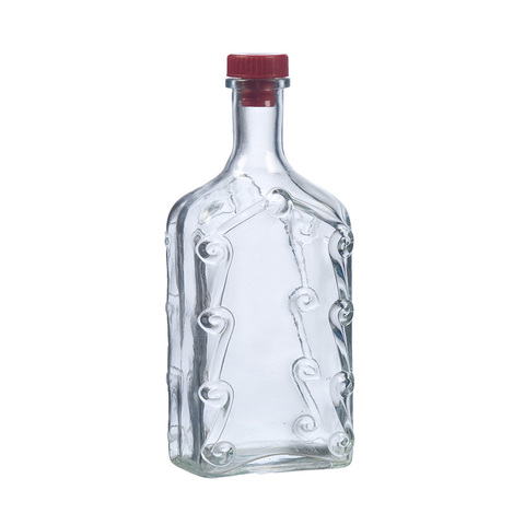 Бутылка стеклянная 1 л «Ёлка»