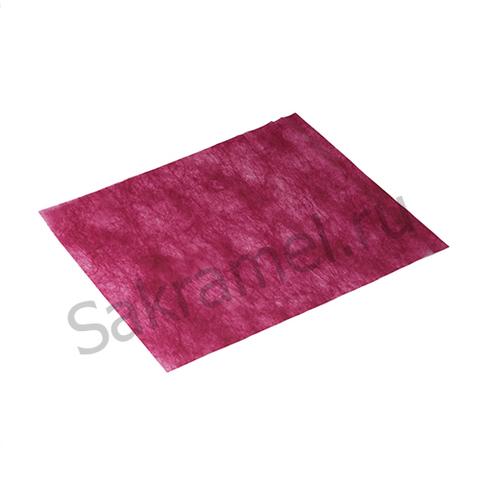 Коврик из спанбонда (Спанбонд, бордовый, 40х50 см, 100 шт/упк, стандарт)