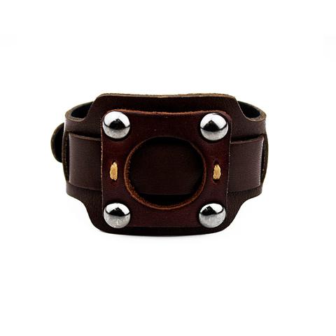 Кожаный браслет TRONIN N-09BR