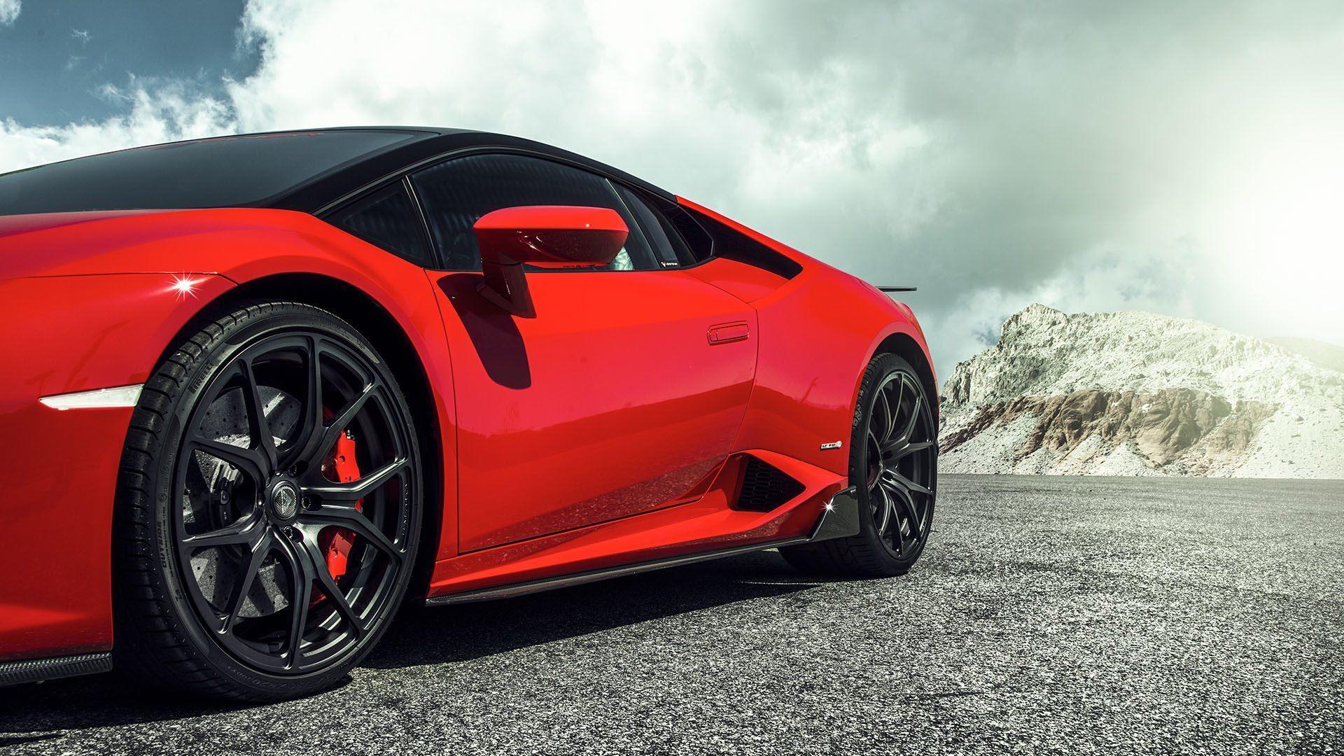 Карбоновые накладки под пороги Vorsteiner Style для Lamborghini Huracan