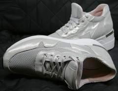 Кроссовки серебристые Topas 4C-8045 Silver.