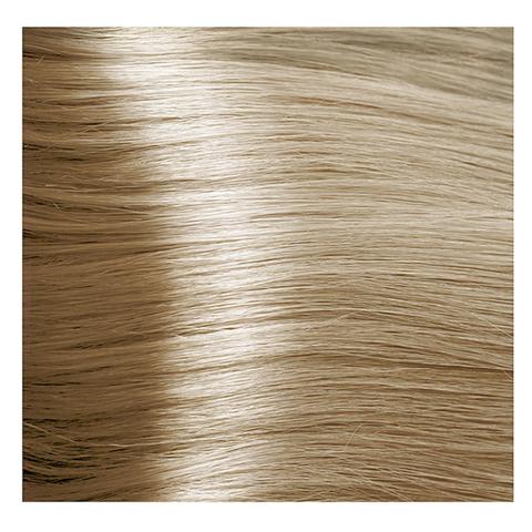 Крем краска для волос с гиалуроновой кислотой Kapous, 100 мл  - HY 10.31 Платиновый блондин золотистый бежевый