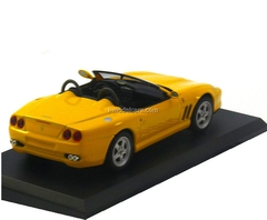 Ferrari 550 Barchetta yellow 1:43 Eaglemoss Ferrari Collection #19