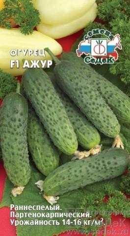 Семена Огурец Ажур F1