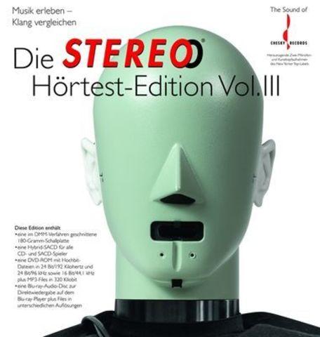 Inakustik CD, LP, DVD, Blu-ray, Die Stereo Hortest Edition, 0167927