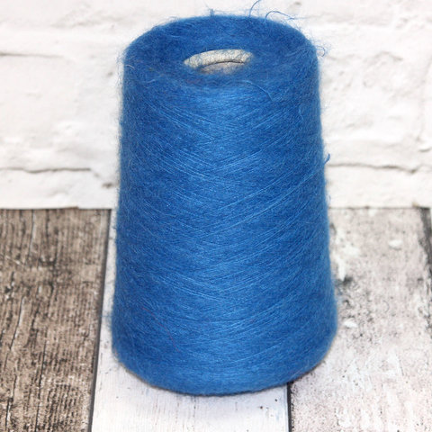 Кидмохер с альпакой Lanificio del'Olivo ROUGE 1500 синий
