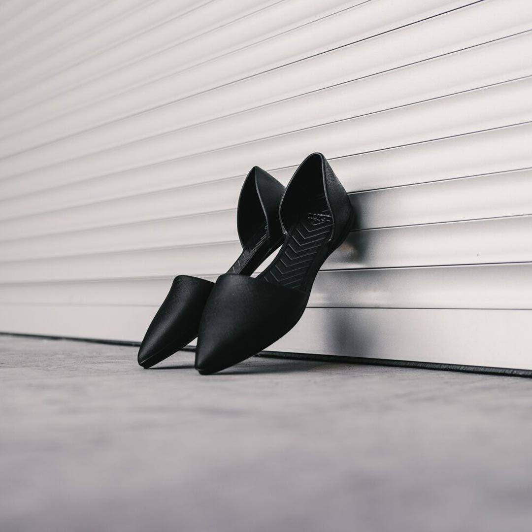 Женские балетки Native Audrey Jiffy Black черные