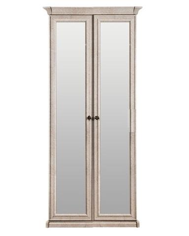 Шкаф  АФИНА  2-х ств. корень крем с зеркалом