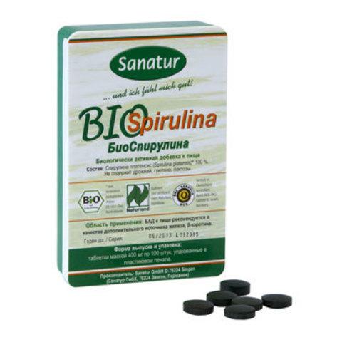Sanatur БиоСпирулина (100 таблеток)