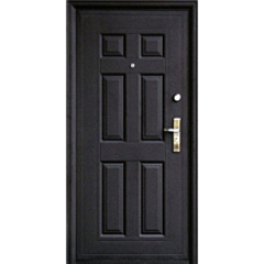 Дверной блок металл. эконом 860х2050 левый (улица/помещение)