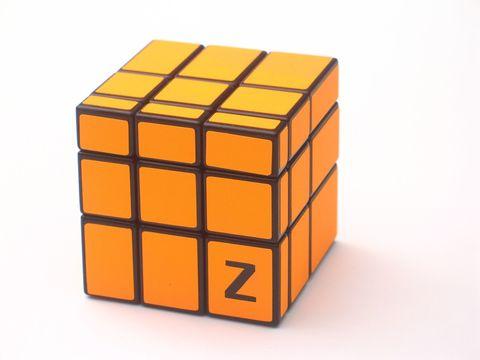 Z-Cube 3x3x3 Зеркальный куб Оранжевый