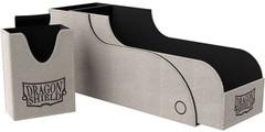 Dragon Shield - Серо-чёрная коробочка Nest+ с отделением для кубиков (300 карт)
