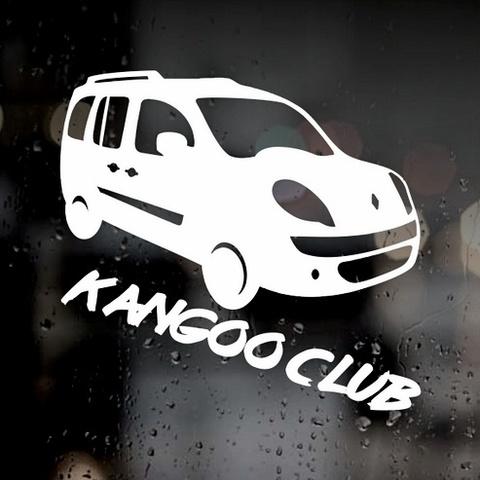 Виниловая наклейка на автомобиль Renault